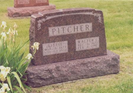 PITCHER, WALTER E. - Story County, Iowa | WALTER E. PITCHER