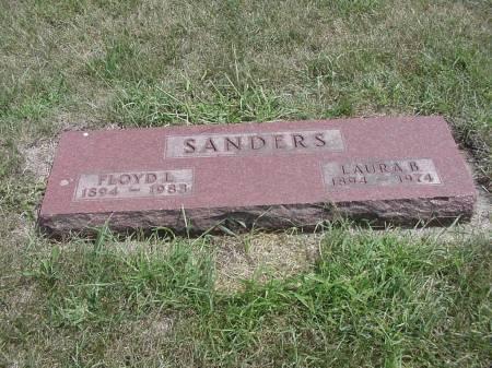SANDERS, FLOYD & LAURA - Story County, Iowa | FLOYD & LAURA SANDERS