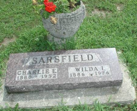 SARSFIELD, CHARLIE & WILDA (RICHMOND) - Story County, Iowa | CHARLIE & WILDA (RICHMOND) SARSFIELD