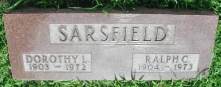 SARSFIELD, CHARLES RALPH - Story County, Iowa | CHARLES RALPH SARSFIELD