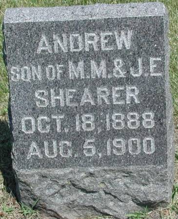 SHEARER, ANDREW - Story County, Iowa | ANDREW SHEARER