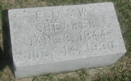 SHEARER, ELIAS W. - Story County, Iowa | ELIAS W. SHEARER