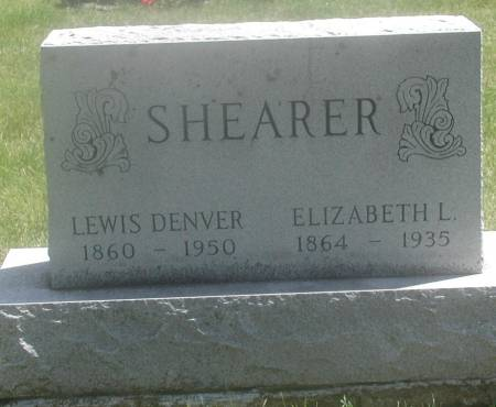 SHEARER, ELIZABETH LILLIAN - Story County, Iowa | ELIZABETH LILLIAN SHEARER