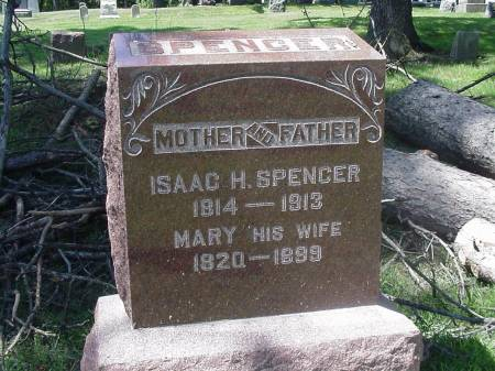 SPENCER, ISAAC H. &  MARY - Story County, Iowa | ISAAC H. &  MARY SPENCER