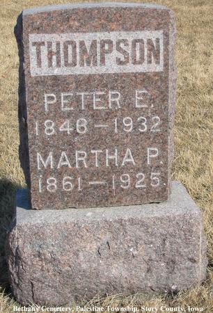 THOMPSON, MARTHA P. - Story County, Iowa | MARTHA P. THOMPSON