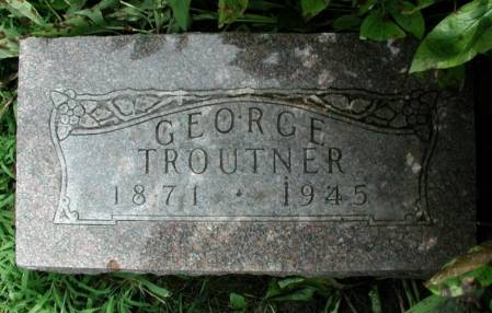 TROUTNER, GEORGE - Story County, Iowa | GEORGE TROUTNER