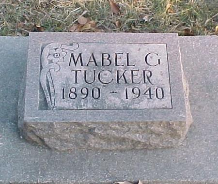 TUCKER, MABLE G. - Story County, Iowa | MABLE G. TUCKER