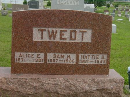 KROHN TWEDT, HATTIE S. - Story County, Iowa | HATTIE S. KROHN TWEDT