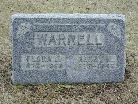 WARRELL, FLORA JANE - Story County, Iowa | FLORA JANE WARRELL