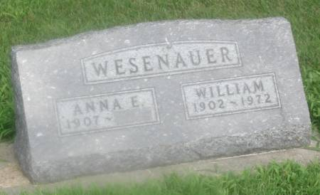 WESENAUER, WILLIAM - Story County, Iowa | WILLIAM WESENAUER