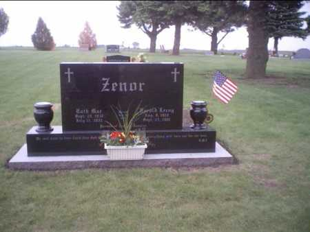 TURNER ZENOR, RUTH - Story County, Iowa | RUTH TURNER ZENOR