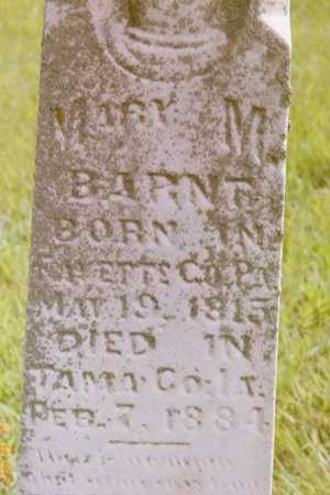 BARNT, MARY - Tama County, Iowa | MARY BARNT