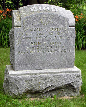 BIRD, ANN T. - Tama County, Iowa | ANN T. BIRD