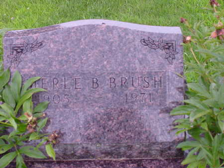BRUSH, MERLE B. - Tama County, Iowa | MERLE B. BRUSH