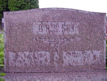 BRUSH, SAMUEL ALBERT - Tama County, Iowa | SAMUEL ALBERT BRUSH