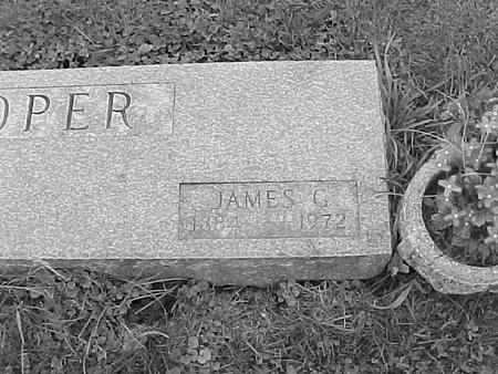 COOPER, JAMES G. - Tama County, Iowa | JAMES G. COOPER