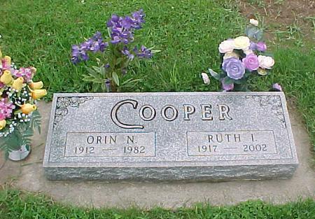 COOPER, ORIN N. - Tama County, Iowa | ORIN N. COOPER