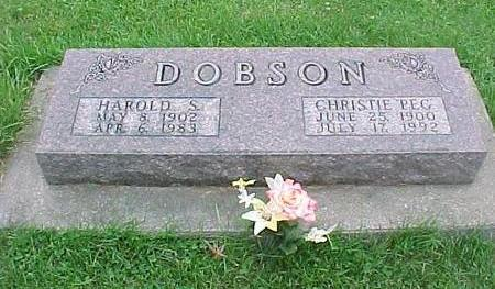 DOBSON, CHRISTIE PEG - Tama County, Iowa | CHRISTIE PEG DOBSON