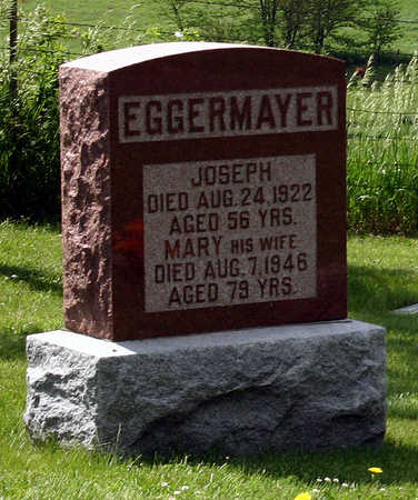 EGGERMAYER, MARY - Tama County, Iowa | MARY EGGERMAYER