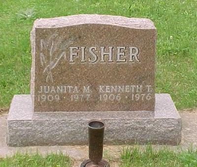 FISHER, JUANITA M. - Tama County, Iowa | JUANITA M. FISHER