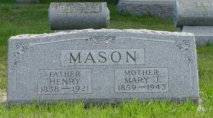 GAY MASON, MARY JOSEPHINE - Tama County, Iowa | MARY JOSEPHINE GAY MASON