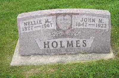 HOLMES, NELLIE F. - Tama County, Iowa | NELLIE F. HOLMES