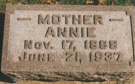 HOPPE, ANNIE - Tama County, Iowa | ANNIE HOPPE