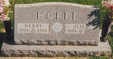 BILLERBECK HOPPE, ALICE - Tama County, Iowa | ALICE BILLERBECK HOPPE