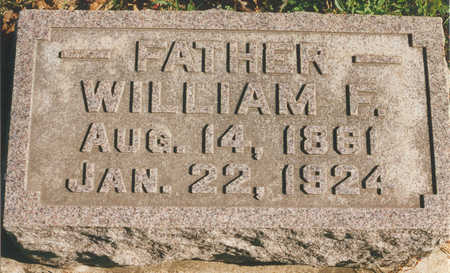 HOPPE, WILLIAM F. - Tama County, Iowa | WILLIAM F. HOPPE