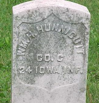 HUNNICUTT, WM. H. - Tama County, Iowa | WM. H. HUNNICUTT