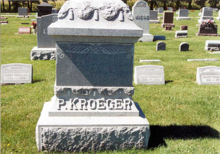 KROEGER, MARY - Tama County, Iowa | MARY KROEGER