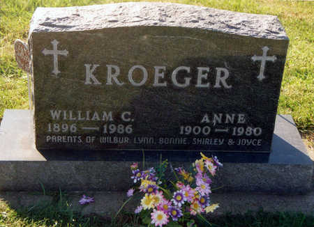 ALBERT KROEGER, ANNE - Tama County, Iowa | ANNE ALBERT KROEGER