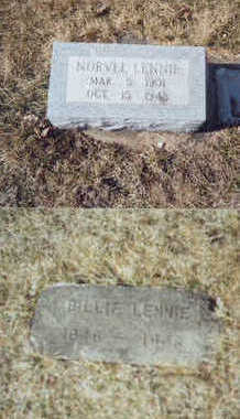 LENNIE, BILLIE D. - Tama County, Iowa | BILLIE D. LENNIE
