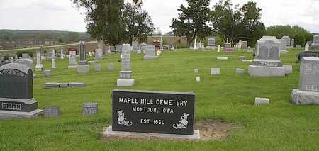 MAPLE HILL (INDIAN VILLAGE TWP.), CEMETERY - Tama County, Iowa | CEMETERY MAPLE HILL (INDIAN VILLAGE TWP.)