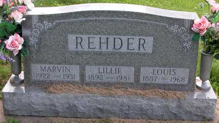 REHDER, LOUIS - Tama County, Iowa | LOUIS REHDER