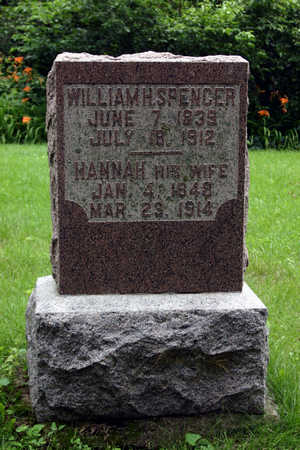 SPENCER, WILLIAM H. - Tama County, Iowa | WILLIAM H. SPENCER