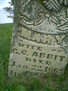 ABBIT, MARY - Taylor County, Iowa | MARY ABBIT