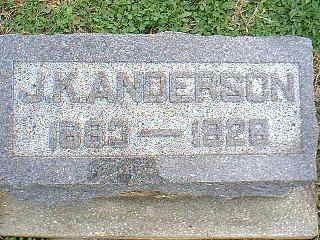 ANDERSON, J.K. - Taylor County, Iowa | J.K. ANDERSON