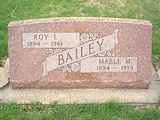 BAILEY, ROY L. - Taylor County, Iowa | ROY L. BAILEY