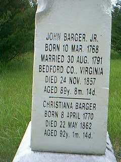 BARGER, JOHN - Taylor County, Iowa | JOHN BARGER