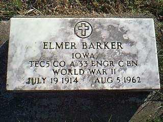BARKER, ELMER - Taylor County, Iowa | ELMER BARKER
