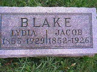 BLAKE, JACOB - Taylor County, Iowa | JACOB BLAKE