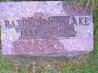 BLAKE, PATRICK M. - Taylor County, Iowa | PATRICK M. BLAKE