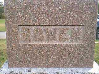 BOWEN, FAMILY - Taylor County, Iowa | FAMILY BOWEN