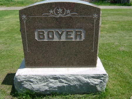BOYER, HEADSTONE - Taylor County, Iowa | HEADSTONE BOYER