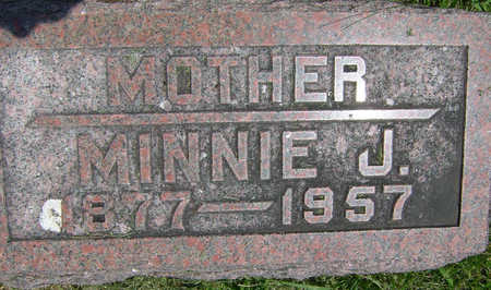 KNOTT BOYER, MINNIE - Taylor County, Iowa | MINNIE KNOTT BOYER
