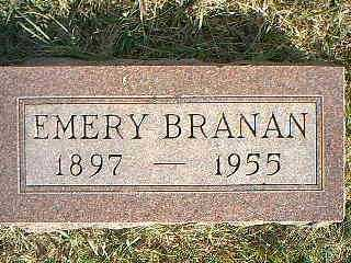 BRANAN, EMERY - Taylor County, Iowa | EMERY BRANAN
