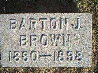 BROWN, BARTON J. - Taylor County, Iowa | BARTON J. BROWN