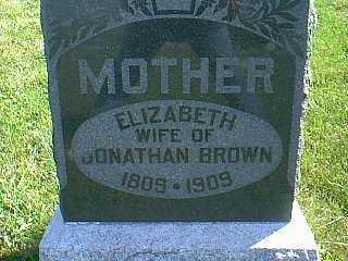 BROWN, ELIZABETH - Taylor County, Iowa | ELIZABETH BROWN