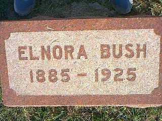 BUSH, ELNORA - Taylor County, Iowa | ELNORA BUSH